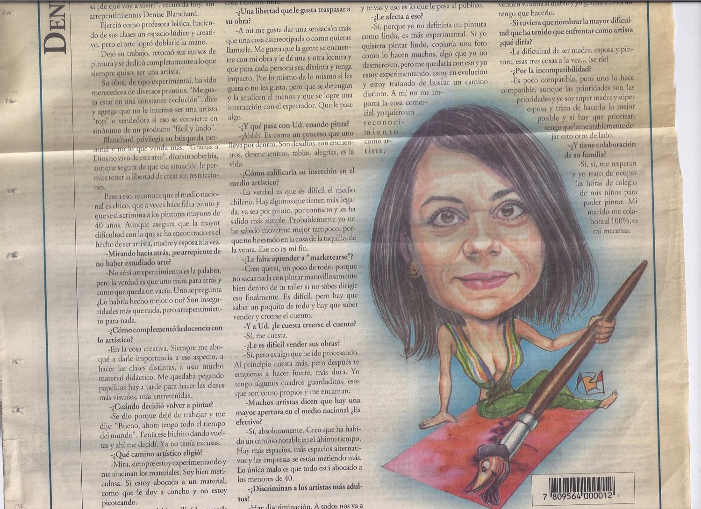 Entrevista  Diario La Nación 2